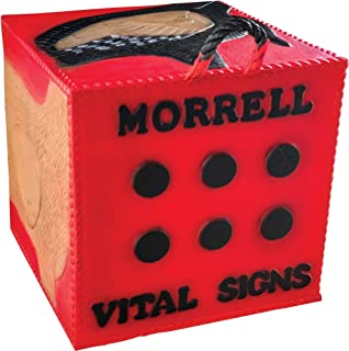 Morrell Vital Signs Combo 2 Field Point/Broadhead Combo Target - for Compounds, Crossbows, Traditional Bows and Airbows