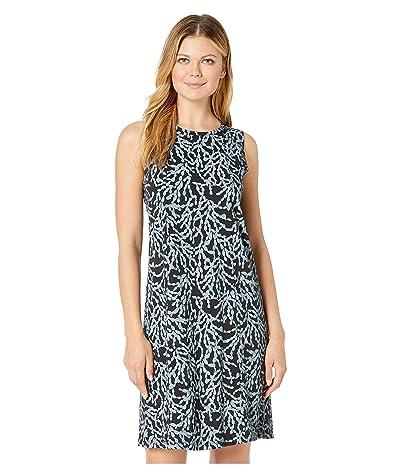 Fresh Produce Coral Clusters Marissa Dress (Black) Women