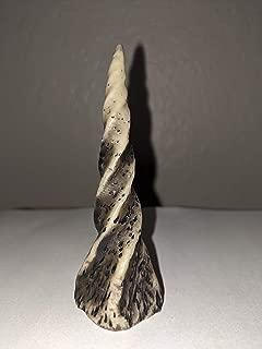 Pan's Devil Horns Unicorn Horn (White with Black Tint)