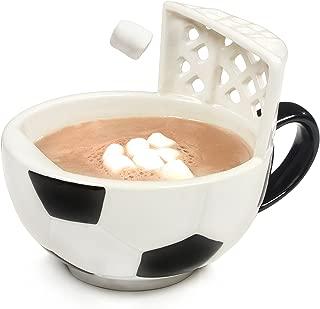the soccer mug with a goal