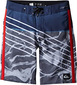 Quiksilver Kids - Highline Lava Slash Boardshorts (Big Kids)