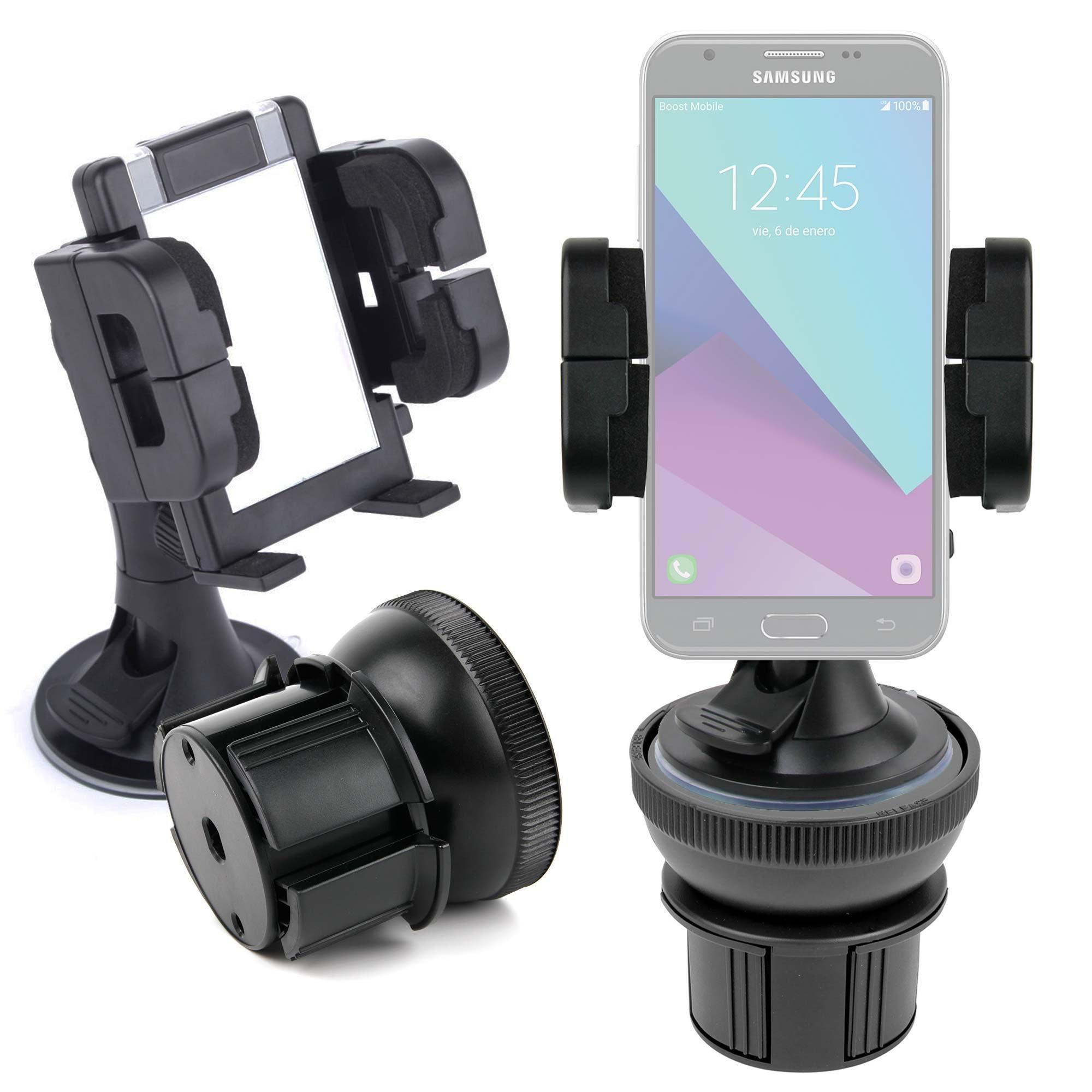 DURAGADGET Soporte De Coche Para Smartphone Samsung Galaxy J3 , J5 (2017) / Huawei Y7 Prime / Archos Diamond Alpha , Gamma , Sense 55S , Sense 50X / ZTE nubia Z17 mini: Amazon.es: Electrónica