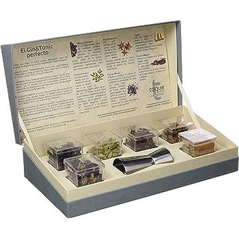 Especias Gin Tonic kit gift box naturales MiniPack de Infusiones - Con 6 aromas y 24 uds para aromatizar tu cóctel: Amazon.es: Hogar