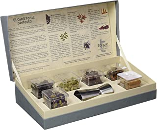 Toque Caja 6 botánicos para Gin&Tonic: estuche premium