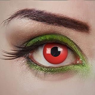 aricona contactlenzen gekleurd – daglenzen – Devil Eyes- contactlenzen rood