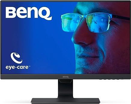 BenQ Monitor LED 23.8 pulgadas 1080p Eye-Care ( GW2480 ), 1920x1080,  Brightness Intelligence, Low Blue Light, Flicker-free, Bisel Ultra Delgado, Sistema de Organización de Cables, HDMI