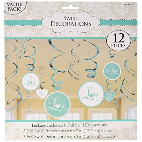 Value Pack Foil Swirl Decorations