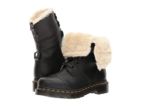 Dr. Martens Aimilita FL 9-Eye Toe Cap Boot at Zappos.com 5d852de76