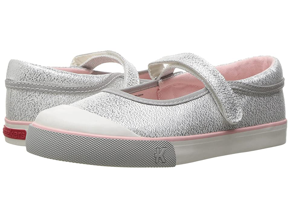 See Kai Run Kids Marie (Toddler/Little Kid) (Silver Glitter) Girl