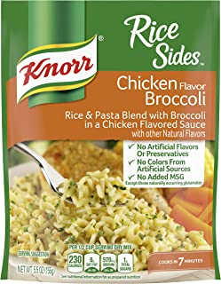 Knorr Rice Side Dish Chicken Broccoli 5.5 oz. Pack of 12