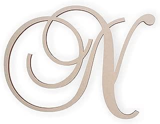 cursive letter n