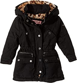 Cotton Twill Anorak with Faux Fur Lining (Toddler)