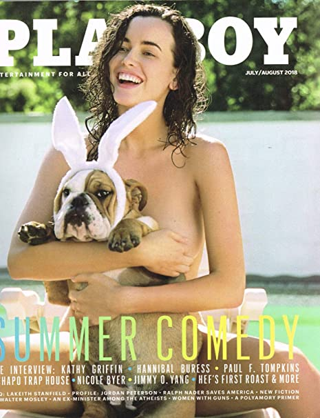 Cover 2018 playboy Laura Cover
