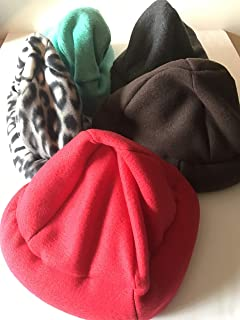 Weighted hat - adult, fleece - washable - compression, adult weighted hat