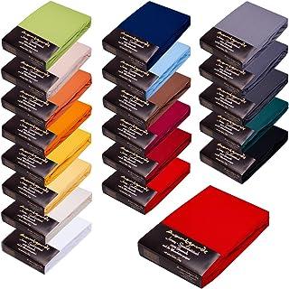 Avantgarde Drap-housse 180 x 200 – 200 x 220 cm – Convient également pour lit à sommier tapissier & lit à eau – Drap-houss...