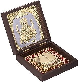 Aheli God Ganesha Photo Frame, Indian Housewarming Return Gift, Momento Frame for Pooja, Goddess of Good Fortune and Wealt...