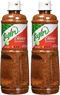 Tajín Clásico Seasoning 14 Oz, Pack of 2