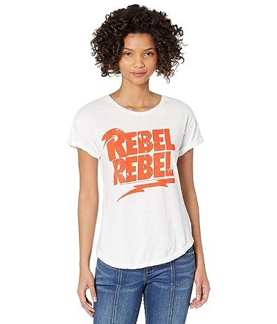 The Original Retro Brand Rebel Rebel Rolled Short Sleeve Slub Tee