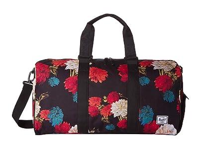 Herschel Supply Co. Novel Mid-Volume (Vintage Floral Black) Duffel Bags