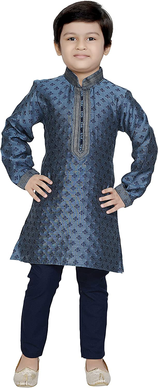 Tathastu Boys Silk Pyjama Kurta Set Super popular specialty store Limited time cheap sale