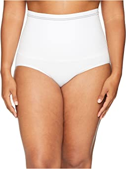 Plus Size Cotton Seamless Brief