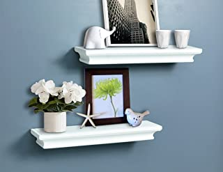 Amazon Com White Floating Shelves Home Decor Accents Home