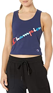 Champion womens Authentic Crop Top Sleeveless T-Shirt