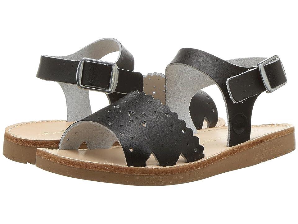 Freshly Picked Laguna Sandal (Infant/Toddler/Little Kid) (Ebony) Girls Shoes