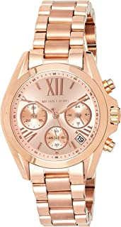 Michael Kors Women's MK5799 Bradshaw Rose Gold-Tone Watch
