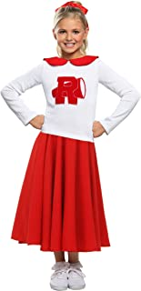 Grease Rydell High Girls Cheerleader Costume