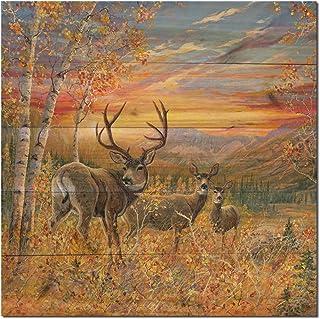WGI-GALLERY WA-DMMD-2424 Dream Maker Mule Deer Wall Art