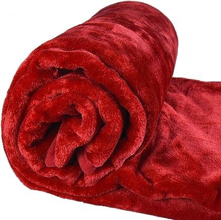 Suprême Qualité Fausse Fourrure Plaid couverture polaire vison Canapé Lit De Luxe Grande Taille