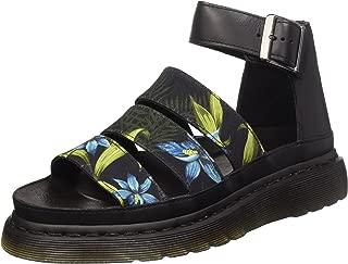 Dr. Martens Women's Clarissa Black Sandals 6 M UK, 8 M