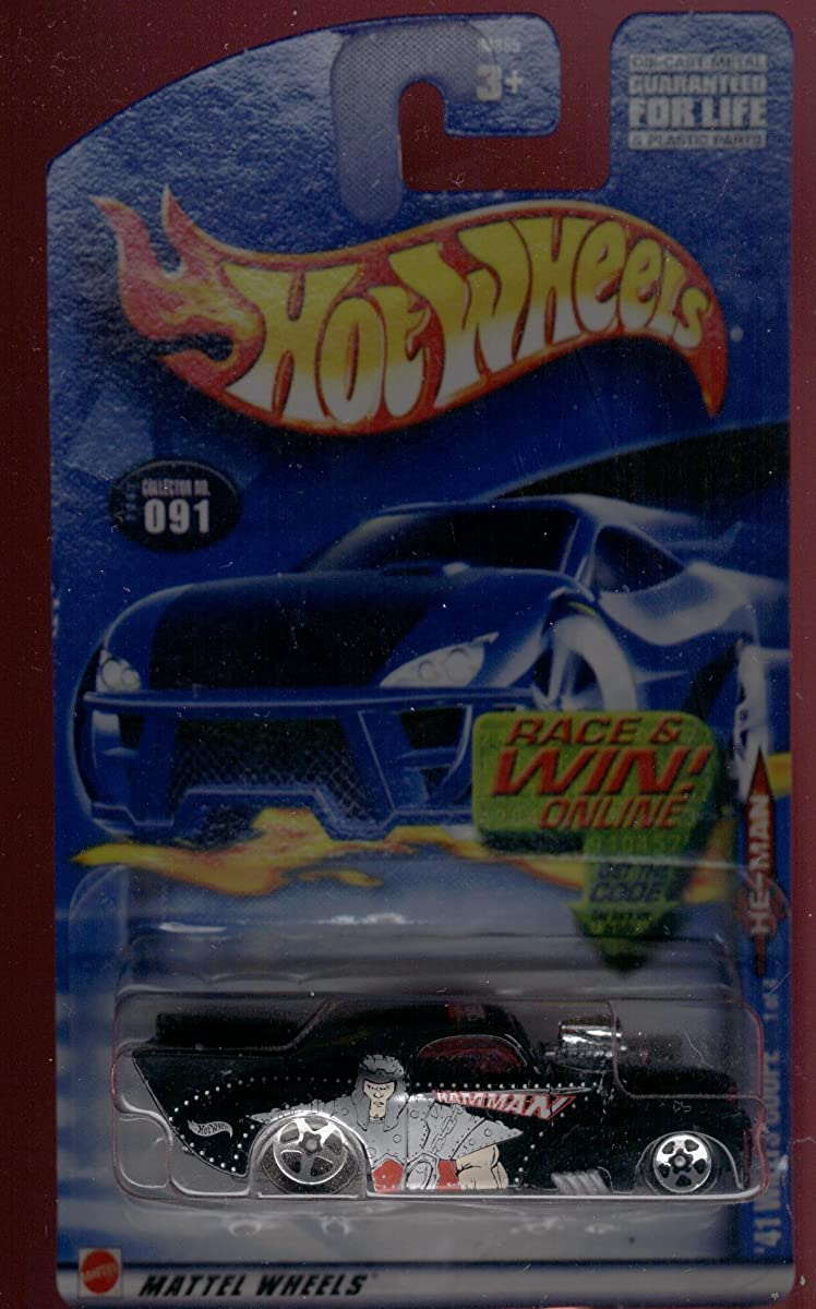 Hot Wheels 2002 He-Man Masters The Universe Series 41 Willys Black Card 91