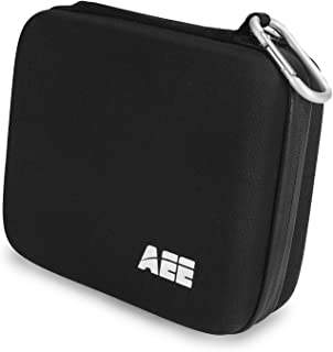 AEE Technology Q25 Durable Soft Shell All Weather Camera Case for Action Cameras (Black)