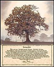 P. Graham Dunn Living Life Countryside Tree Wall Mounted Printed Plaque