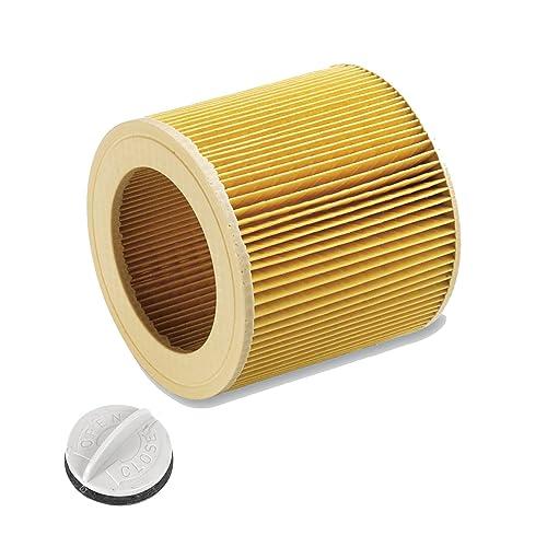 Cartuchos Filtro para aspiradora en húmedo/seco húmedo aspirador/aspiradora multiusos/Lavado Aspiradora Kärcher A 2204225421012201wd2WD3MV2MV3wd2.200wd3.500P WD 3.200, WD 3.300M, WD 3.500P como 6.414–552.0 1 Stück