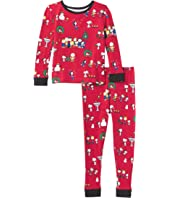 Long Sleeve Snug Fit Pajama Set (Toddler/Little Kids/Big Kids)