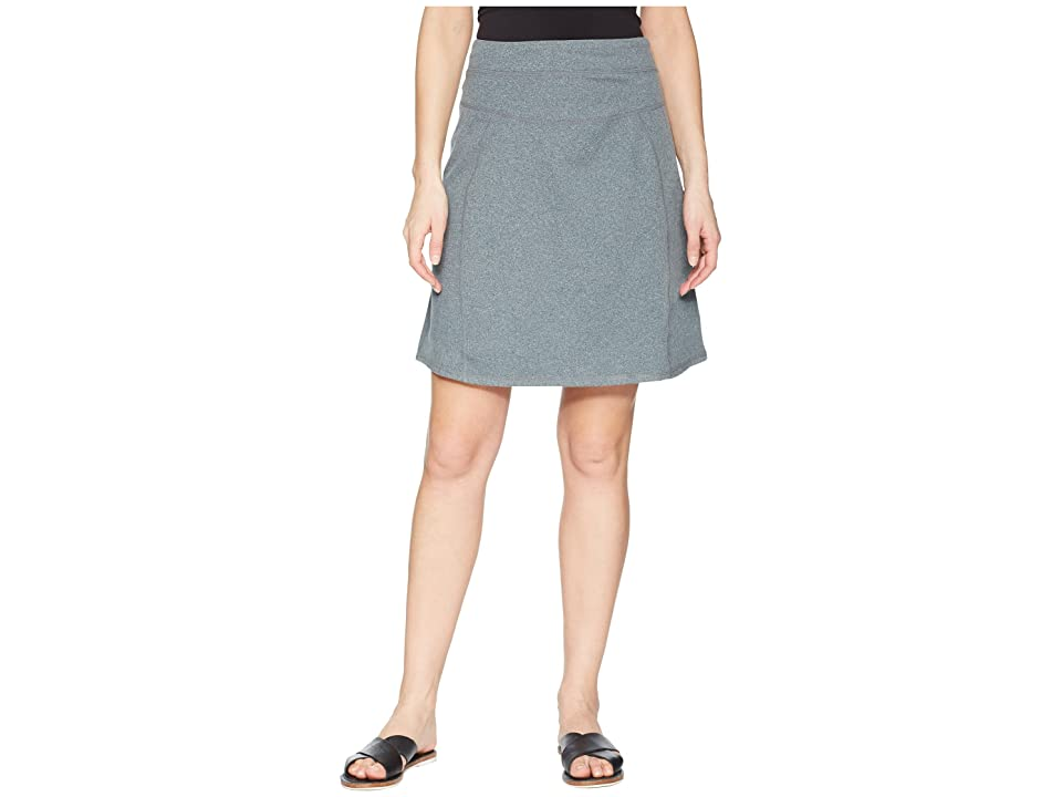 Aventura Clothing Stratus Skirt (Heather Charcoal) Women