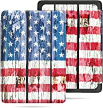 VORI Case for All-New Kindle Paperwhite (10th Generation, 2018 Release), Water-Safe Protective Smart Cover with Auto Sleep/Wake for Amazon Kindle Paperwhite 2018 EReader, American Flag