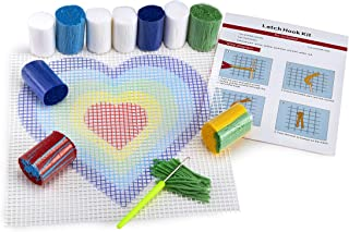 Heart DIY Latch Hook Kit – Sew Your Own 12