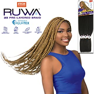 [MULTI PACKS DEAL] SENSATIONNEL AFRICAN COLLECTION KANEKALON AQUATEX PRE-LAYERED SYNTHETIC BRAID 48