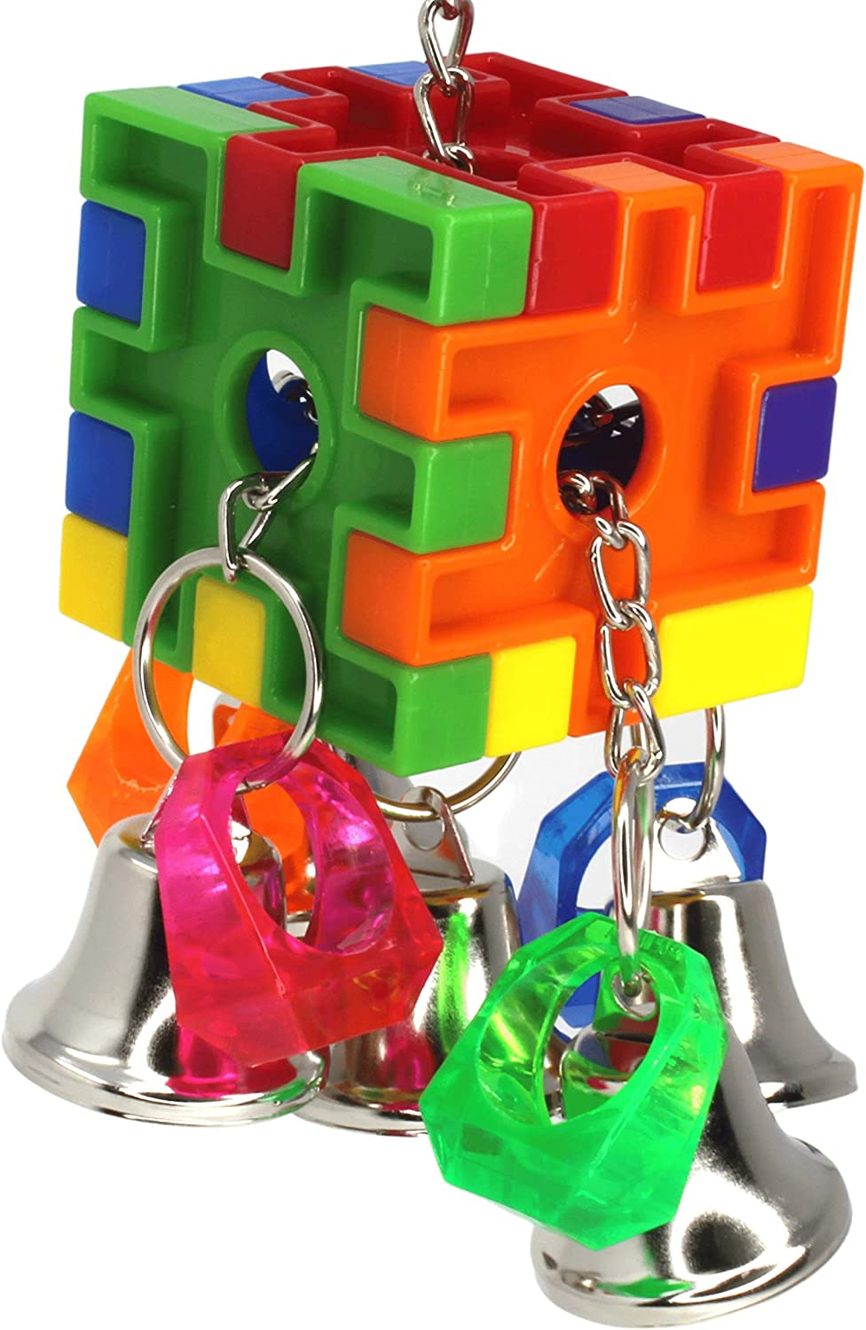 Bonka Bird Toys 3475 Bell Pull Regular store Toy Small Challenge the lowest price of Japan Cube