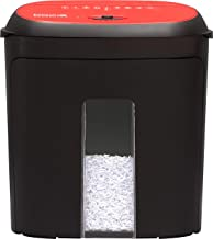 Boxis Nanoshred 8 Sheet Nanocut High Security Paper/Credit Card Paper Shredder (Red)