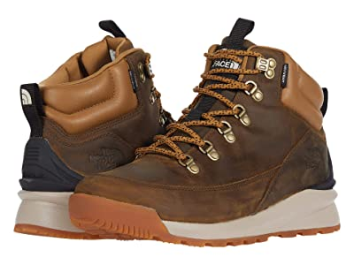 The North Face Back-to-Berkeley Mid Waterproof (Utility Brown/TNF Black) Men