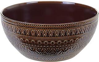 Certified International Aztec Brown Deep Bowl,