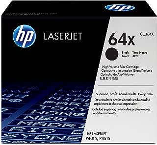 HP 64X   CC364X   Toner Cartridge   Black   High Yield