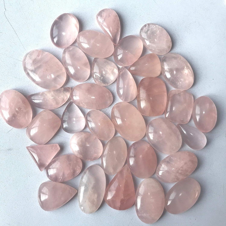 40x27x6mm Natural Solar Quartz Cabochon Gemstone  For Use Jewelry Making Stones Black Bi Colors Gemstone Huge Gemstone