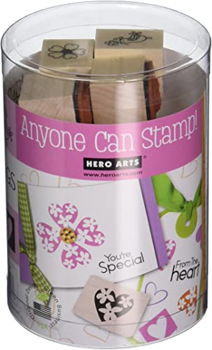 minoristas en línea Hero Arts Ink 'N - - - Tubo de Sello de 7,62 x 10,16 cm del corazón  El nuevo outlet de marcas online.