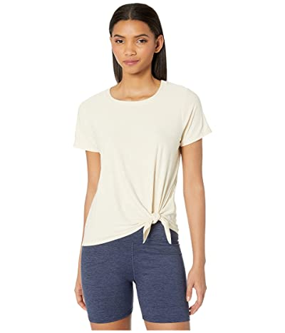 Beyond Yoga Lightweight All For Ties Tee (Sandstone/Almond) Women